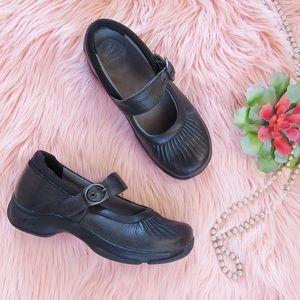 Black Dansko Mary Jane Flats Size 38